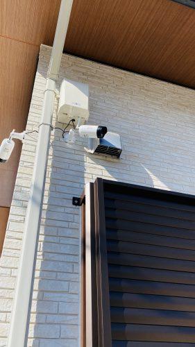ワイヤレスセキュリティカメラ