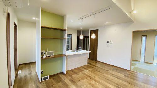 キッチン、棚